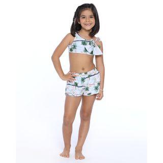 Short infantil com elastico nas laterais