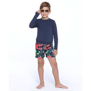 Bermuda infantil com elastico