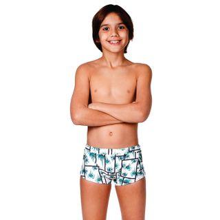 Sunga infantil modelo boxer
